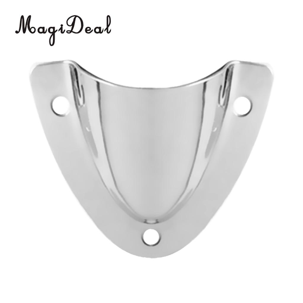 Stainless Steel 316 Clam Shell Wire Cable Vent Cover Boat Marine