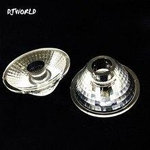 Lentille à Angle de faisceau plat 25/40 LED, pour éclairage professionnel de scène, 7sps Disco DJ atmosphère de fête musicale