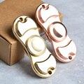 Fidget Spinner EDC Hand Spinner Yellow Metal Custom Bearing Fidget Toys Golden
