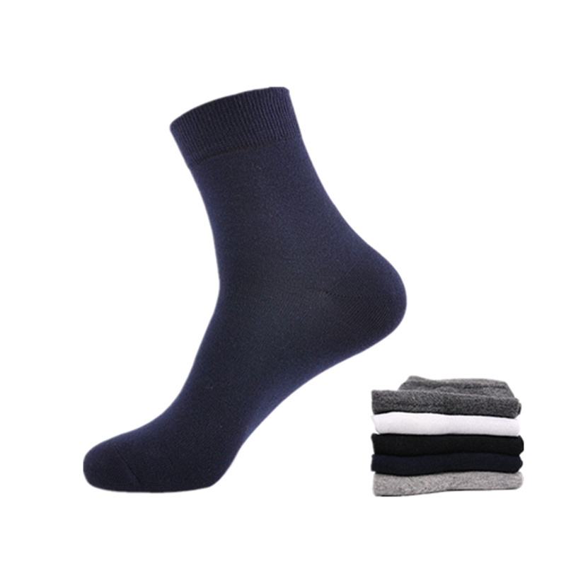 Business men   socks   solid color mens cotton   sock   hot sale male cotton combing   socks   comfortable breathable   sock