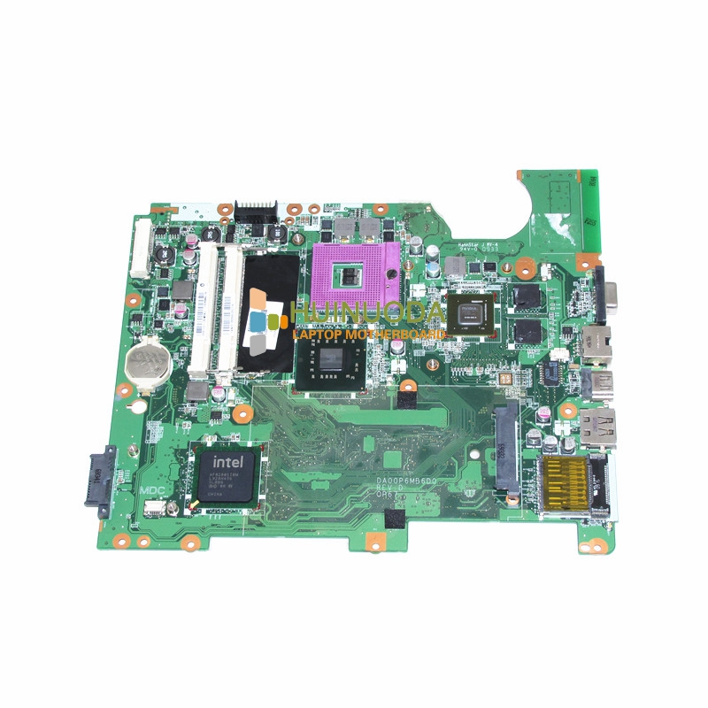 все цены на 310P6MB01E0 DA00P6MB6D0 578000-001 for HP  compaq presario CQ61-300 Intel Laptop Motherboard NVIDIA graphics онлайн