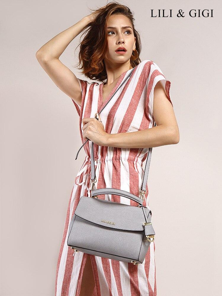 2019 bolsos de mano mujeres famosas marcas bolso de cuero genuino zooler Saffiano mujer sillín diseñador bolsos de lujo Bolsos De Mujer-in Bolsos de hombro from Maletas y bolsas    1