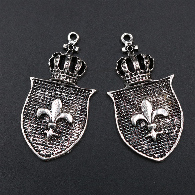 Sensible Wkoud 4pcs Antique Silver Spear & Crown Charm Vintage Necklace Bracelet Diy Metal Jewelry Alloy Pendant A1801 Jewelry Sets & More Jewelry & Accessories