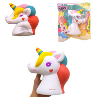 Kiibru For Squishy Unicorn 16CM Slow Rising Soft Animal Collection Gift Decor Toy Original Packaging Phone