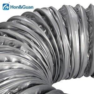 Image 3 - Hon ve Guan 4 ~ 8 kanal susturucu düşük gürültü esnek havalandırma hortumu yalıtımlı alüminyum hava boru kanalı için klima 1.2m