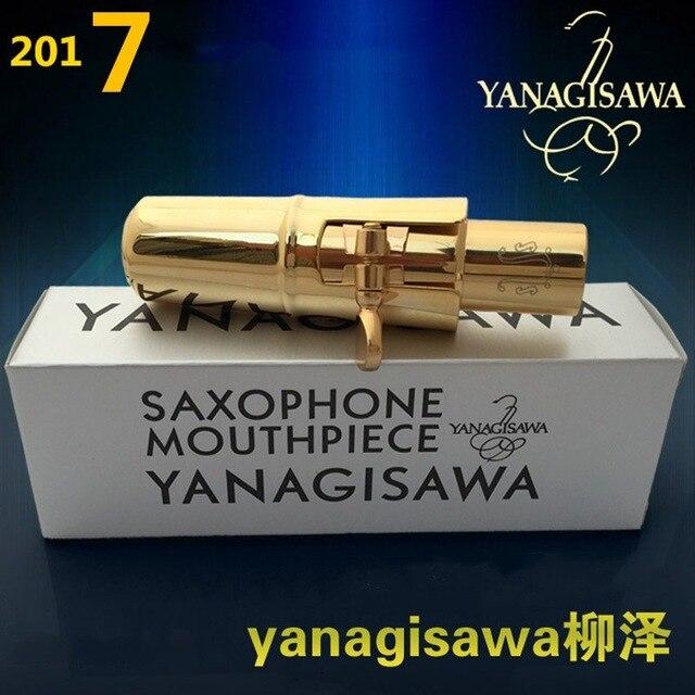 Hochwertige original version Yanagisawa saxophon metall mundstück alto/Sopran/tenor/metall mouthpieceNO5-9 kostenloser versand