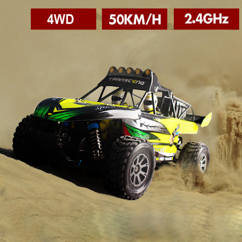 WLtoys K929 1:18 RC Car Desert Off-road Racing Kid Toy Car 50KM/H 4WD Remote Control Electronic Rock Crawlers wltoys k929 1 18 2 4ghz 4 channel high speed remote control racing car model toy green