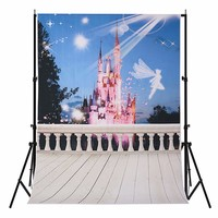 5X7FT Portray Dream Castle Photography Background For Studio Photo Props Photographic Backdrops Cloth 1 5X2 1m