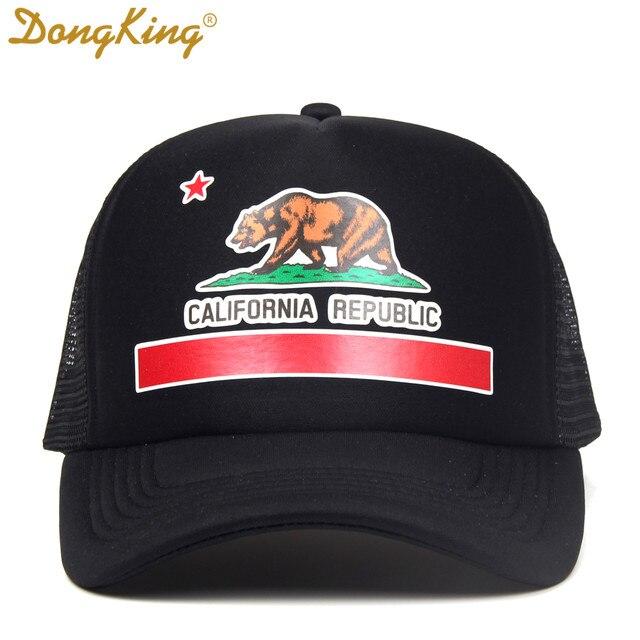 ... coupon code dongking fashion trucker hat california flag snapback mesh  cap retro california love vintage california ... 36471ec6118