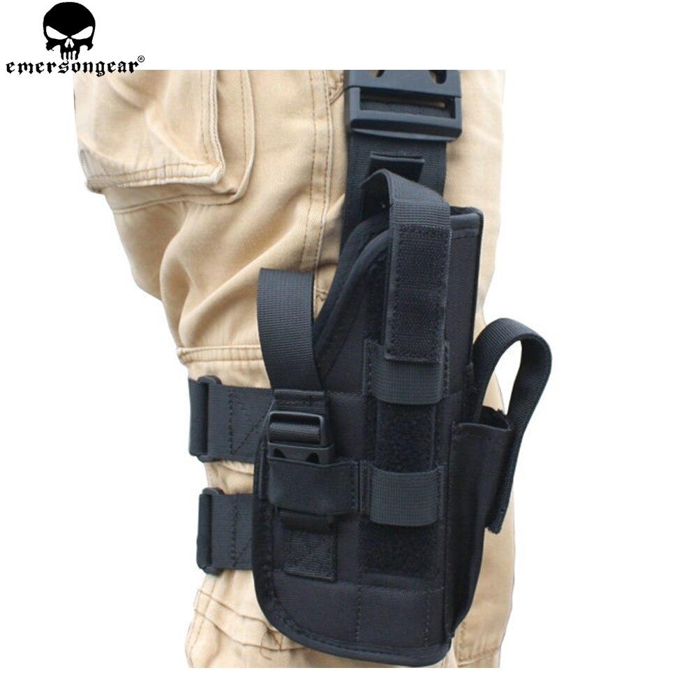 EMERSONGEAR ventes jambe étui Tornado universel tactique cuisse poche Style otan EMERSON main droite gauche pistolet titulaire EM6201