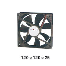 Plastic 120Series DC12V Axial Airflow  Fan 120*120*25mm  Airflow oil-retaining bearing Cooling Fan for Electric Cabinet XFS12025 new original nmb 4712kl 05w b30 dc24v 0 40a 120 32mm axial cooling fan