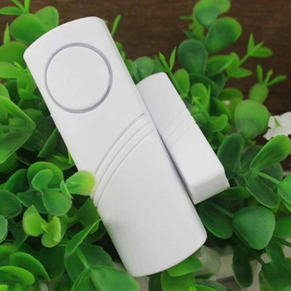 Door and Window Security Alarm Wireless Time Delay Alarm Magnetic Triggered  Door Open Chime for Home Security