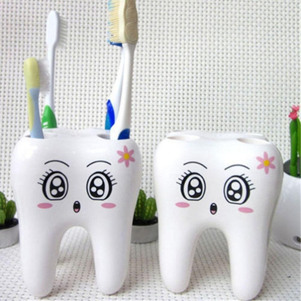 Teeth Style Toothbrush Holder