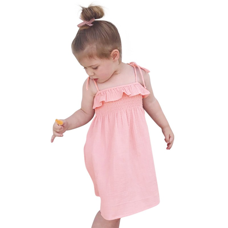 Baby Girls New 2018 Flower Girl Party Dress One Piece Swimsuit Lovely Cute Dress Sling Bikini Beach Wear bathing suits girls