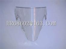 For Suzuki GSXR 1000 R  K3 2003 2004 gsxr 1000 r 03 04 White Windshield WindScreen Double Bubble
