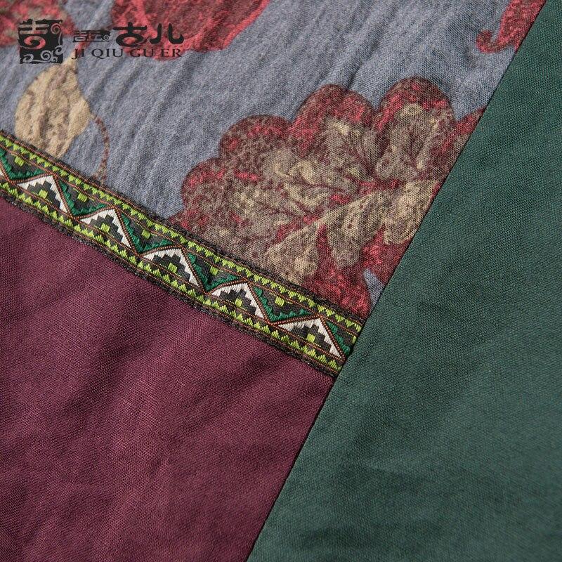 Floral Rouge Manches De Moitié Robe Robes D'une Taille Pièce Brick Lin La Plus D'été Coton Jiqiuguer G162y037 Seule Patchwork Imprimé Femmes pqw4ggE