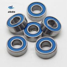 Высокое качество 10 шт. ABEC-5 MR85-2RS MR85 2RS MR85 RS MR85RS 5x8x2,5 мм синие резиновые герметичные миниатюрные радиальные шарикоподшипники