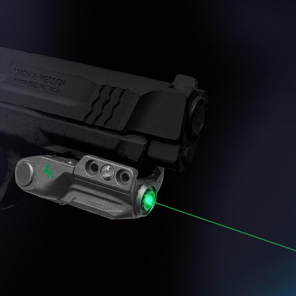 Laserspeed Smart Sensor Control Pistol Laser Sight LS-L9-GT Military Police Tactical Green Glock Laser-1