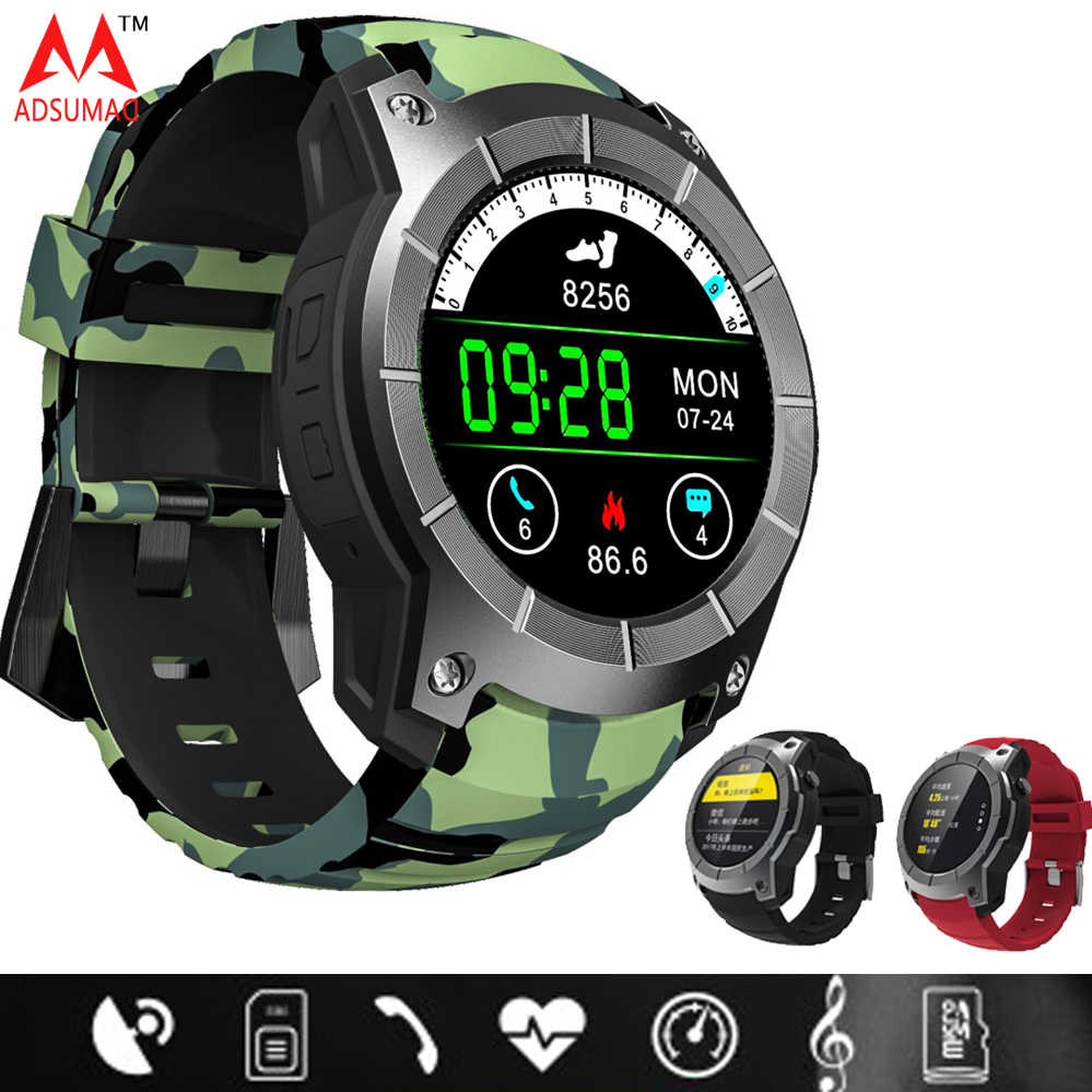 862f33198 S958 GPS Smart Watch Heart Rate Monitor Sport IP68 Waterproof Support SIM  Card Bluetooth 4.0 Smartwatch
