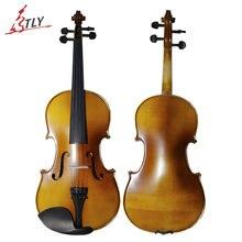 TONGLING Full Size Beginner Violin 4/4 Maple Violino Antique Matt High-grade Handmade Fiddle+Case+Bow+Rosin+Mute+Shoulder Rest