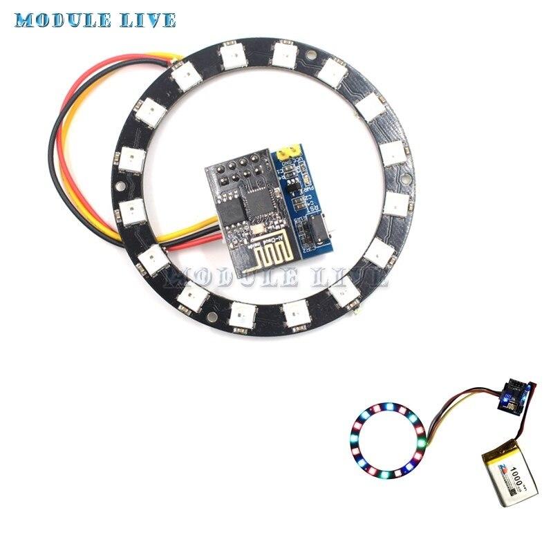 ESP8266 ESP 01 ESP 01S RGB LED Controller Module DIY DC 3 7V