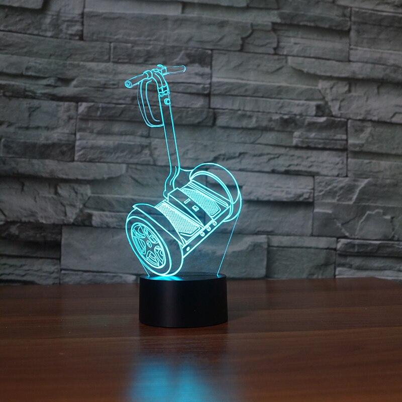 3D OEM design Led Visual Colorful USB Table Lamp Lampara Baby Sleeping Night Light Creative decoration light
