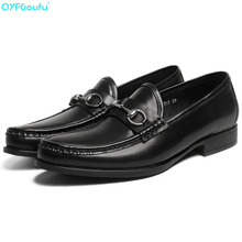 Fashion Design Genuine Leather Oxford Shoes For Men Dress Shoes Formal Round Toe Slip-on Business Wedding Casual Shoes 2017 brand genuine leather oxford shoes for men casual men oxford men dress wedding business formal brogue round toe men shoes