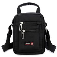 2018 Navy Green Small Flap Shoulder & Crossbody Bags For Men Male Leisure Summer Mini Messenger Bag Black Nylon