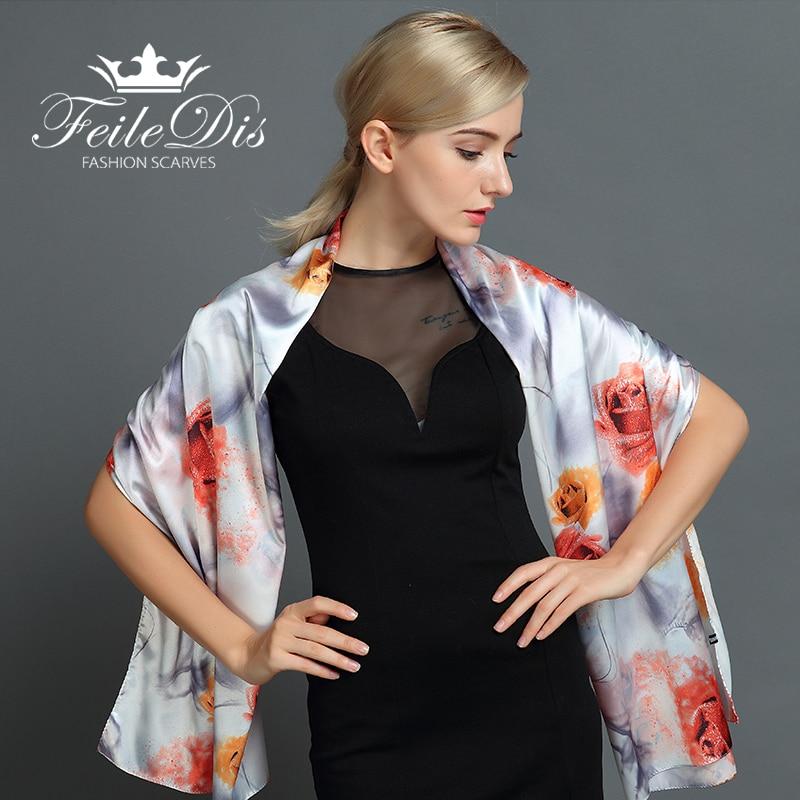 [FEILEDIS] 2017 մետաքսե շարֆ նորաձևություն - Հագուստի պարագաներ - Լուսանկար 1
