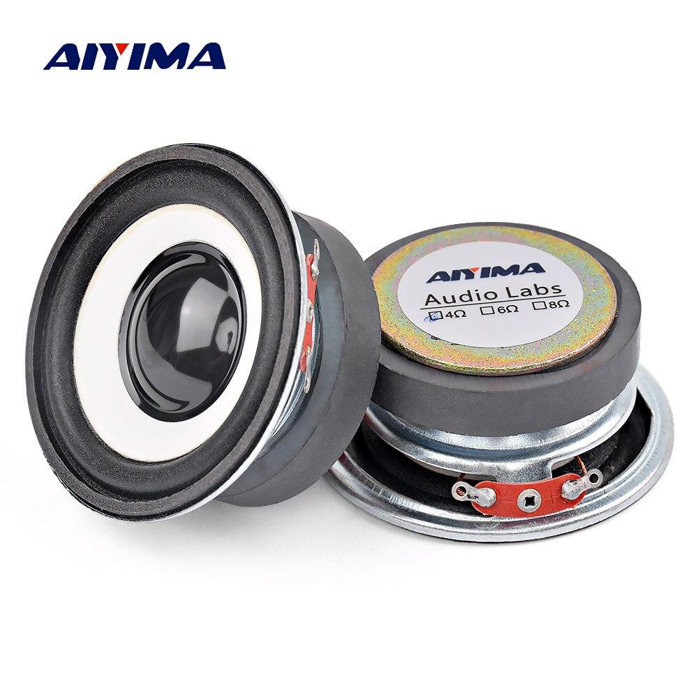 8 Pieces 30mm 8Ohm 8Ω 1W Internal Magnetic Round Audio Speaker Loudspeaker MA