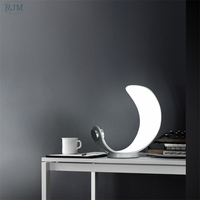 Modern Curl Table Lamp Bedside Lamp Bedroom Simple Lamps Art Deco Fashion Creative Nordic Table Lamp LED Lights Home Deco