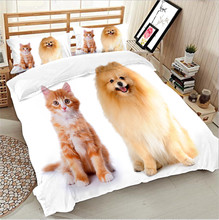 3D Cute dog Retriever duvet cover sets
