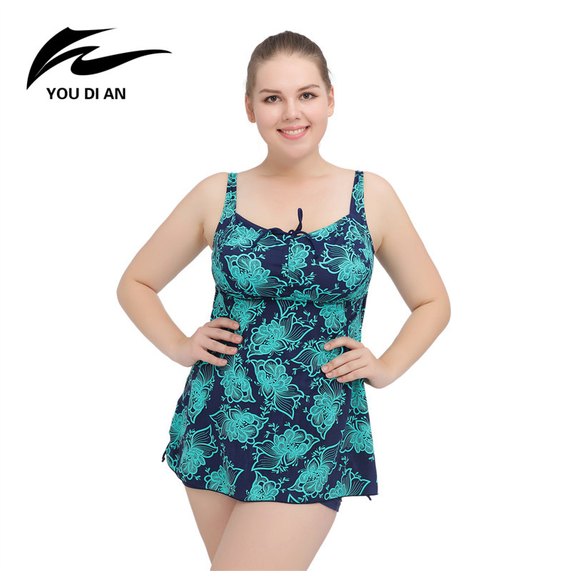 2017 Summer Women s Beach Dress New Ladies Bathing Suit Plus Size Swimwear Large Size Clothes