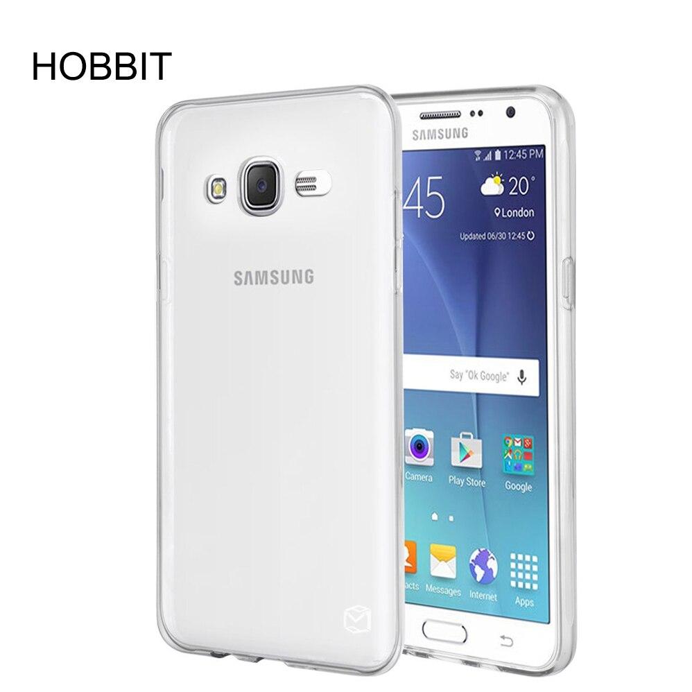 Для samsung Galaxy J7 J5 J2 J1 2015 Ultra Slim тонкий ТПУ Резиновая мягкая кожа силиконовый Защитный Чехол [Anti Scratch] для J700 J500