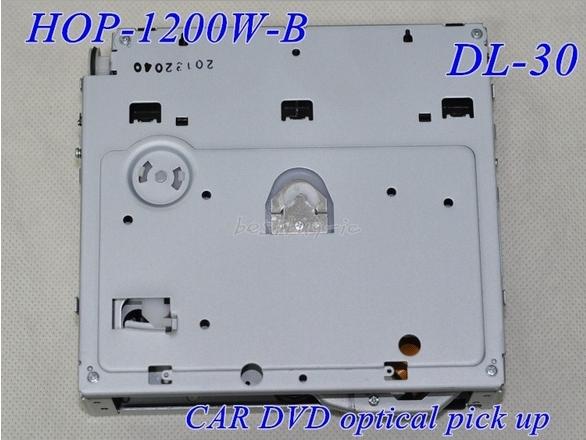 Envío gratis Optical pick-ups origina DL-30 HOP-1200W-B MECANISMO para COCHE DVD cabezal láser
