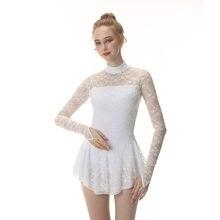 24bce4933138c Popular White Ice Skating Dress-Buy Cheap White Ice Skating Dress ...