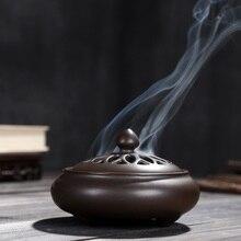 цена на Fragrant incense burner incense sticks creative line fragrant sandalwood ceramic fumigating