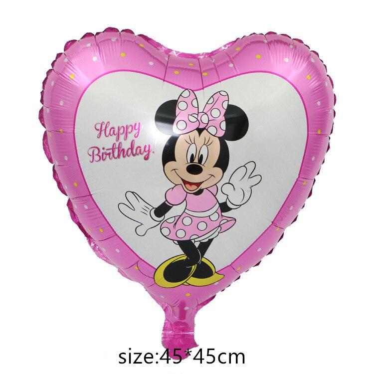 Гигантский мультяшный милый мышонок мультяшный воздушный шар из фольги воздушный шар детский день рождения украшения Классические игрушки подарок мультяшная шляпа - Цвет: 11