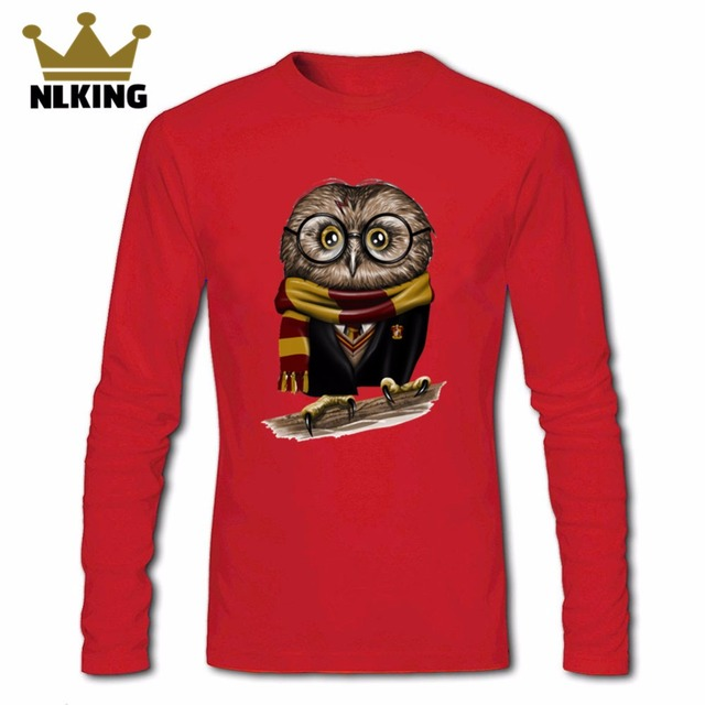 51b011442e T-shirt dos homens 2018 do vintage kawaii coruja Harry Potter Owly T camisas  Completo
