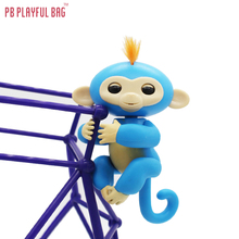 pb playful bag Full functionality Finger Monkey Interactive Smart Colorful Finger Smart Induction Toys baby Monkey of fingertips