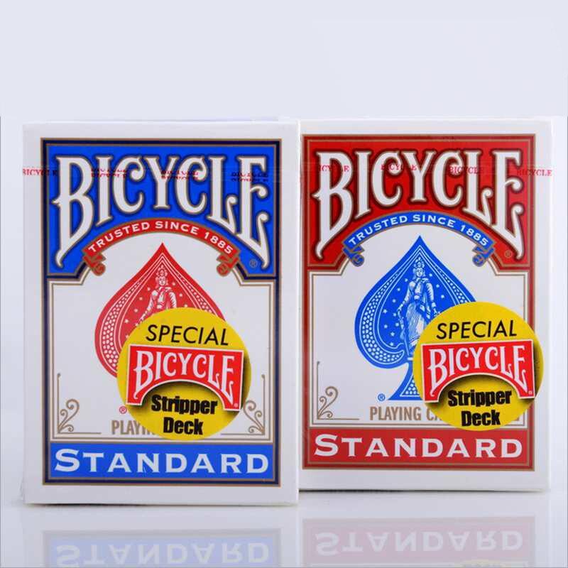 1pcs Original Cykel Stripper Däck Cykel Spelkort Magic Troll Trollkarl poker kort magiska rekvisita