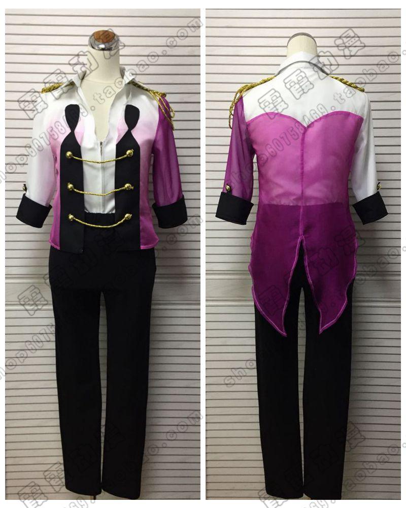 Anime Yuri on Ice Victor Nikiforofu Cosplay Costume Custom-Made Halloween Party Dress