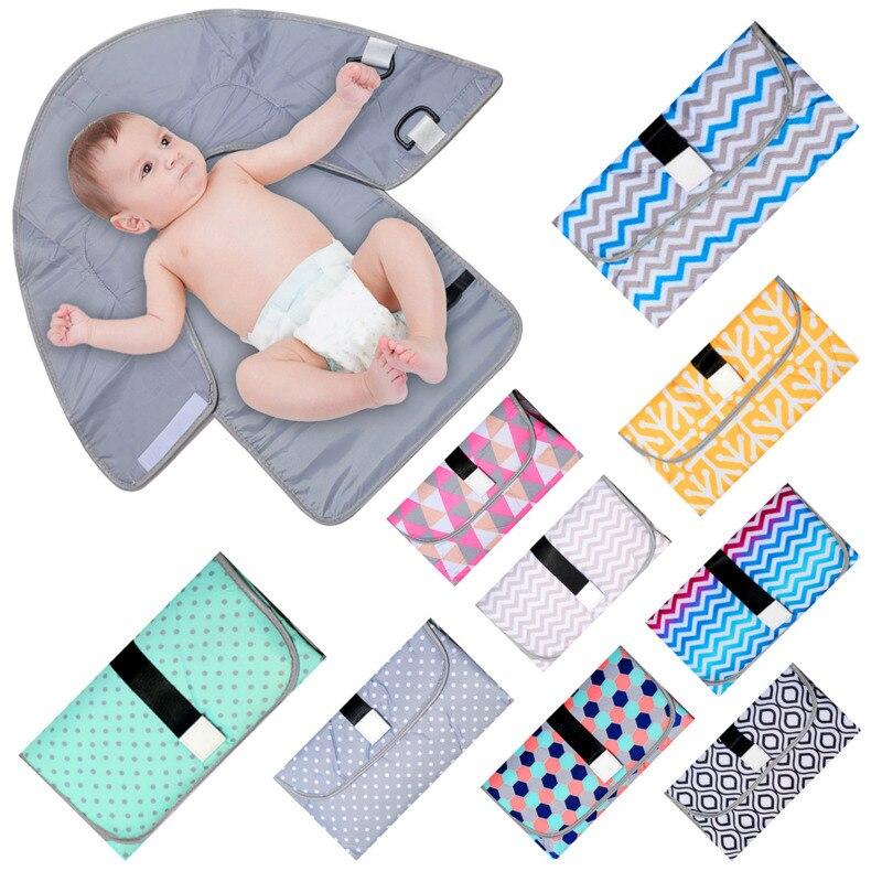Bébé échange couche-culotte pli imperméable soins infirmiers Urine pas humide Septum trois-en-un travail 4-6 7-9 mois