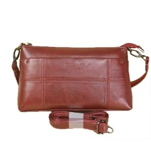 Image 5 - กระเป๋าถือสตรีกระเป๋าหนังแท้สุภาพสตรีกระเป๋า Crossbody ขนาดเล็กสำหรับหญิง Messenger กระเป๋า Bolsas