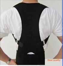 Best Quality Magnetic Posture Support Corrector Back Belt Band Straightener Band Brace Shoulder Braces & Supports for Men Women