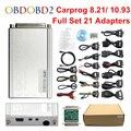 Адаптер Carprog V10.93 V8.21  полностью 21  2018  автомобильный Prog 10 93 8 21 ECU чип  тюнинг  онлайн ECU Программатор  подушка безопасности  инструмент для сброс...