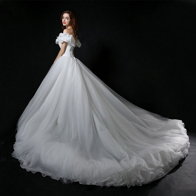Aliexpress.com : Buy Real Photo Cinderella Wedding Dress Off ...