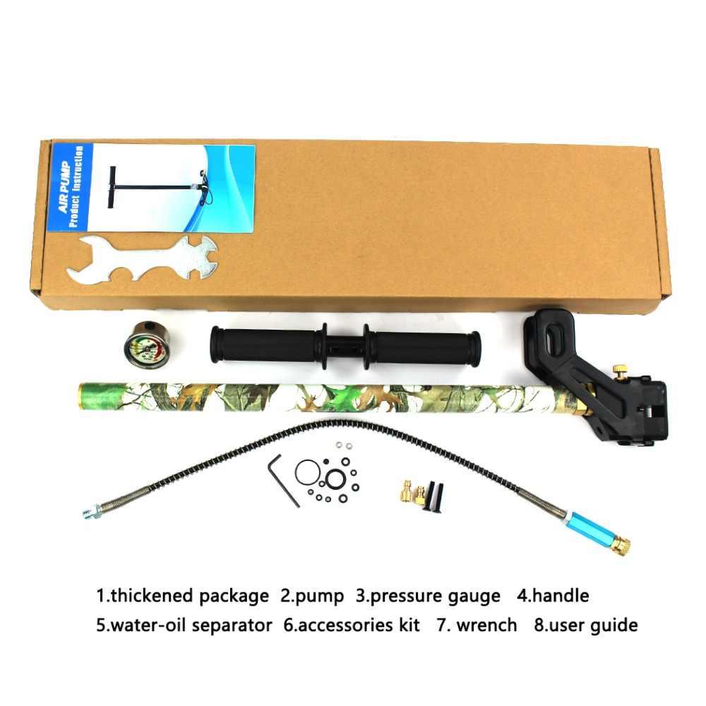30MPA 4500PSI высокое Давление насос складной наполнение воздухом PCP Пейнтбол баллон для дайвинга резервуар для воды-масляный сепаратор водяного охлаждения