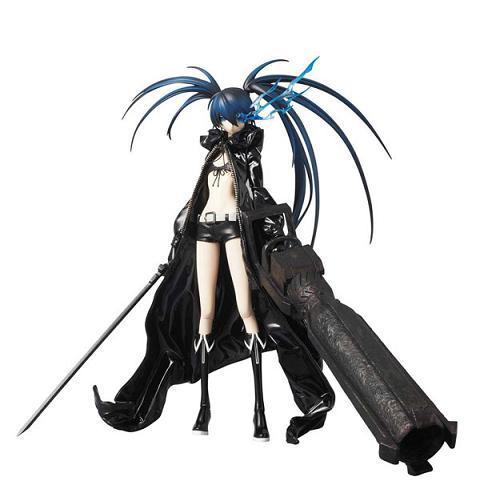 ФОТО 1pcs Anime Black Rock Shooter IBRS  White Rock Shooter WRS removable action pvc figure model toy tall 28cm No box.ver