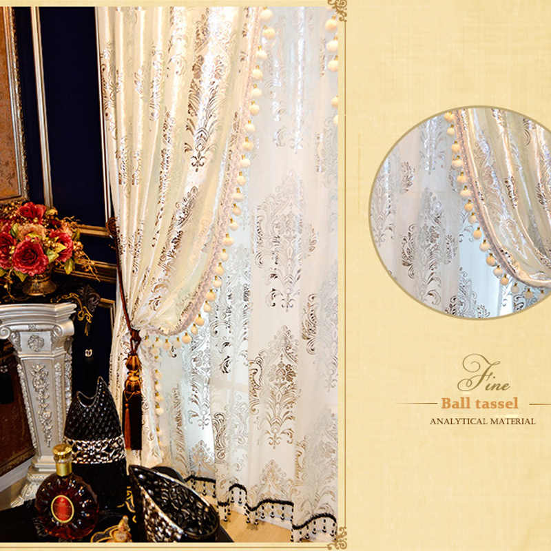 Cool Helen Curtain Luxury Hot Silver Curtains For Living Room White European Design Velvet Curtain For Window Hotel Luxury Sheer Home Interior And Landscaping Palasignezvosmurscom